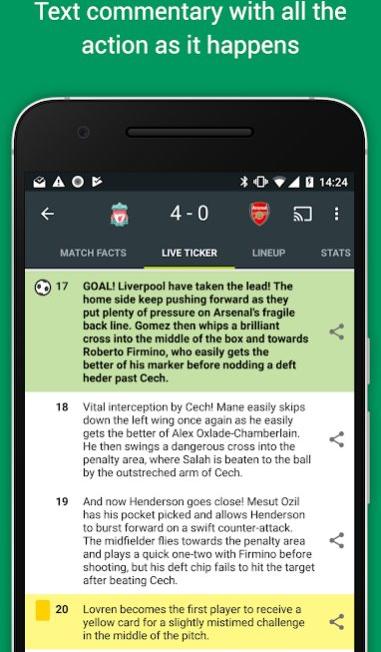 10 ứng dụng miễn phí tốt nhất xem World Cup 2018 trên điện thoại iPhone và Android - Ảnh 17.