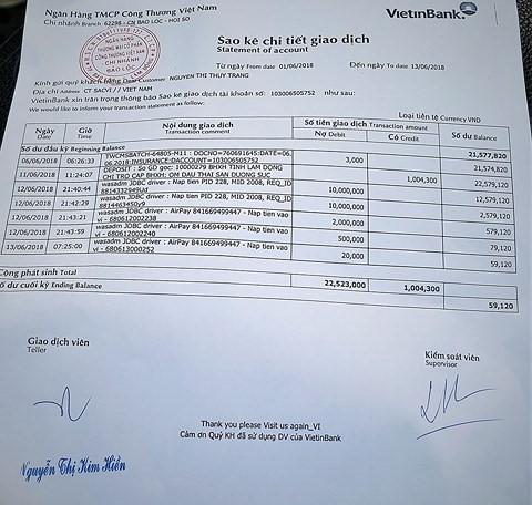 3 phút mất 22,5 triệu đồng trong tài khoản ATM - Ảnh 2.