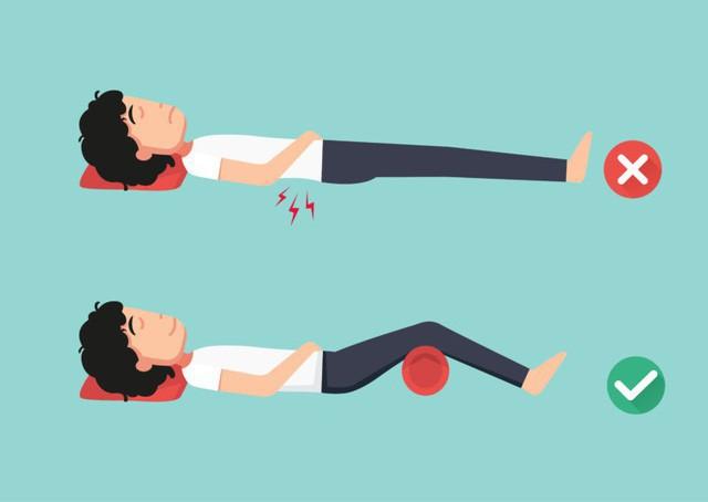 Ai bị đau lưng, cổ, vai, chân, hãy áp dụng tư thế ngủ dưới đây để có một giấc ngủ ngon - Ảnh 3.