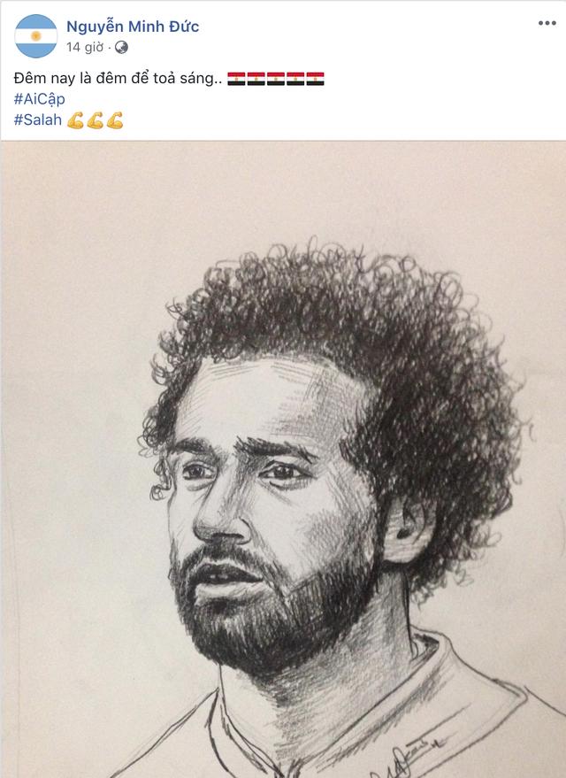 Họa sĩ tiên tri World Cup 2018 trên MXH: Cứ vẽ chân dung ngôi sao đội nào là đội ấy hoà hoặc thua - Ảnh 5.