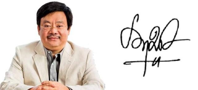 Điểm đặc biệt trong chữ ký đáng giá nghìn tỷ của các doanh nhân quyền lực trên thương trường Việt - Ảnh 3.