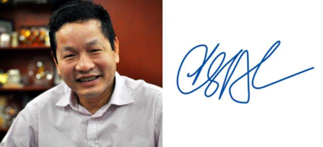 Điểm đặc biệt trong chữ ký đáng giá nghìn tỷ của các doanh nhân quyền lực trên thương trường Việt - Ảnh 5.