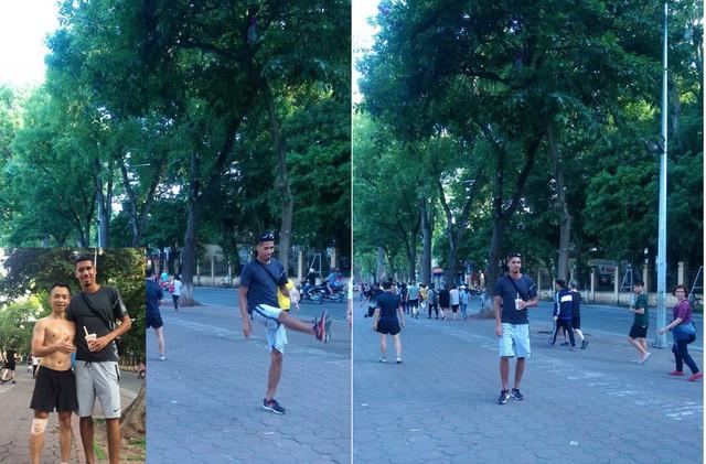 Không được đá World Cup, trung vệ MU Chris Smalling đưa vợ sang Việt Nam du lịch, đá cầu với người hâm mộ - Ảnh 5.