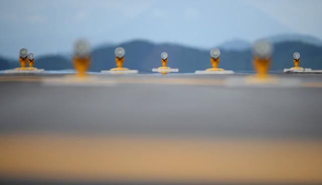 Toàn cảnh cảng hàng không quốc tế Vân Đồn trong ngày đón chuyến bay hiệu chuẩn đầu tiên - Ảnh 11.