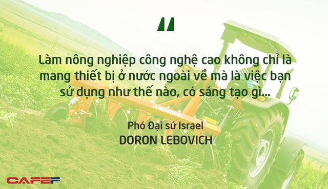 Phó Đại sứ Israel: Việt Nam có khả năng cao trở thành vựa lương thực của thế giới! - Ảnh 2.