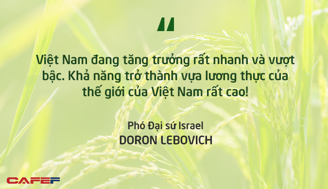 Phó Đại sứ Israel: Việt Nam có khả năng cao trở thành vựa lương thực của thế giới! - Ảnh 3.