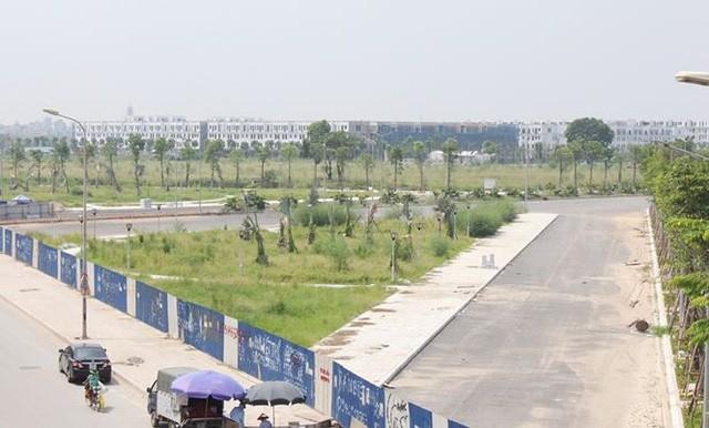 Đường BT nghìn tỷ Hà Nội quây rào để cỏ mọc - Ảnh 5.