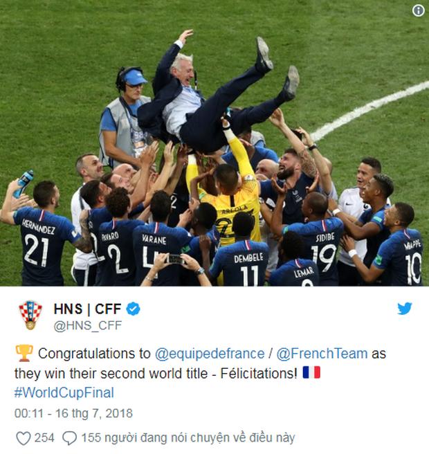 Vô địch World Cup 2018, đội tuyển Pháp được cả thế giới chúc mừng - Ảnh 4.