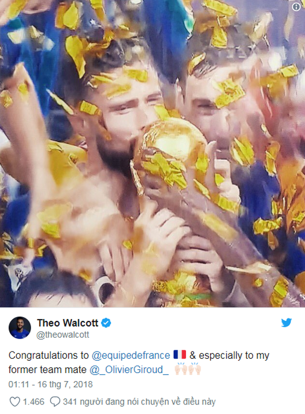 Vô địch World Cup 2018, đội tuyển Pháp được cả thế giới chúc mừng - Ảnh 6.