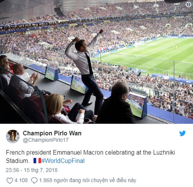 Vô địch World Cup 2018, đội tuyển Pháp được cả thế giới chúc mừng - Ảnh 7.