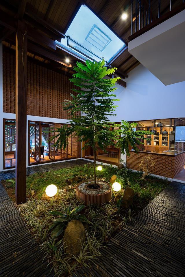 Ngôi nhà mái ngói cấp 4 đẹp như resort khiến nhiều người ước mơ ở Lâm Đồng - Ảnh 9.
