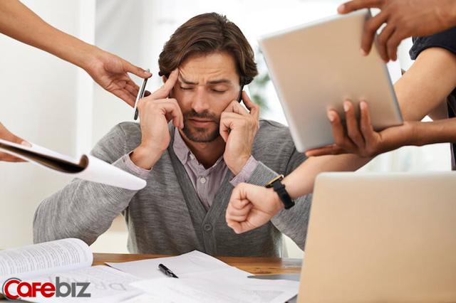 Stress công sở: Đủ liều là động lực, quá liều là sức khỏe giảm sút - Ảnh 1.
