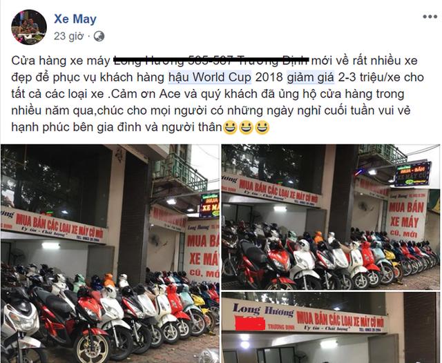 Hậu World Cup: Dân buôn ồ ạt xả hàng thu hồi vốn - Ảnh 2.