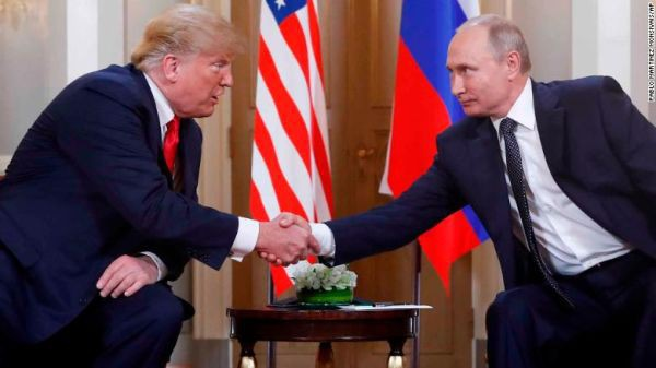 [Cập nhật] Ông Trump căng thẳng bắt tay ông Putin 3 giây, nhắc đến TQ và bạn chung Tập Cận Bình  - Ảnh 4.