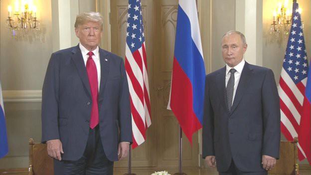 [Cập nhật] Ông Trump căng thẳng bắt tay ông Putin 3 giây, nhắc đến TQ và bạn chung Tập Cận Bình  - Ảnh 5.