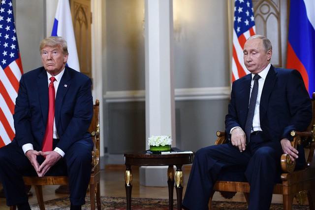 [Cập nhật] Ông Trump căng thẳng bắt tay ông Putin 3 giây, nhắc đến TQ và bạn chung Tập Cận Bình  - Ảnh 6.