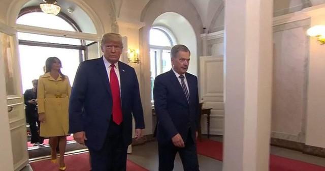 [Cập nhật] Ông Trump căng thẳng bắt tay ông Putin 3 giây, nhắc đến TQ và bạn chung Tập Cận Bình  - Ảnh 7.