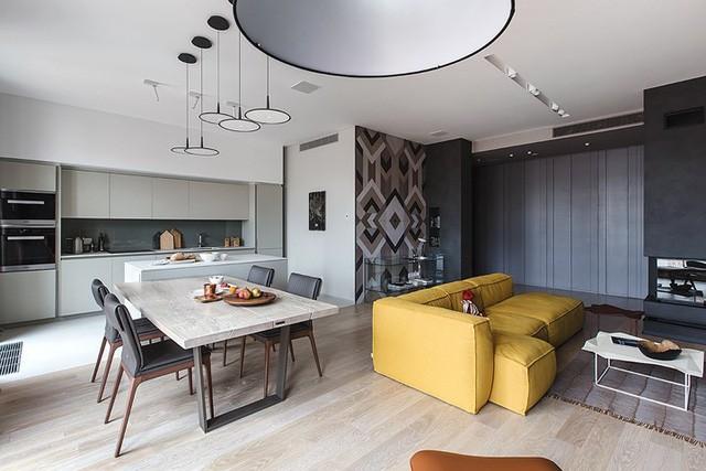 Cách sử dụng nội thất độc đáo trong căn hộ hiện đại  - Ảnh 2.