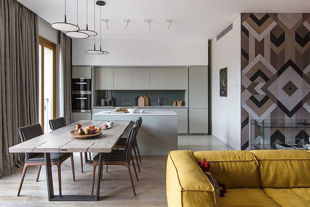 Cách sử dụng nội thất độc đáo trong căn hộ hiện đại  - Ảnh 3.