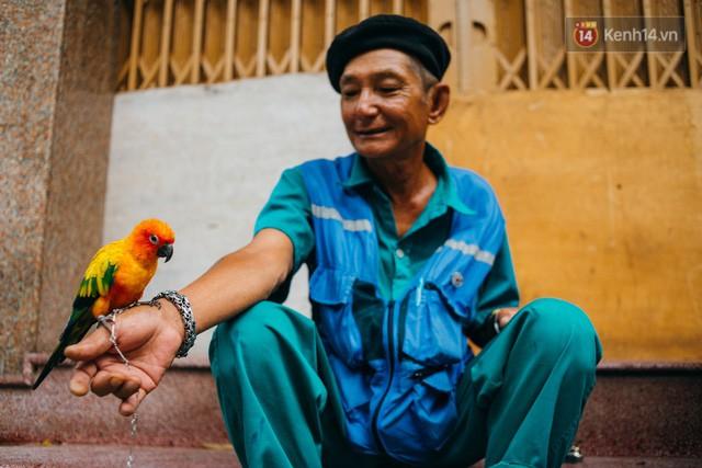 đầu tư giá trị - photo 9 15322434756831262775368 - Ông cụ nhặt rác và chú vẹt ở Sài Gòn trên chiếc xe cứu thương đáng yêu được chế tạo từ phế liệu