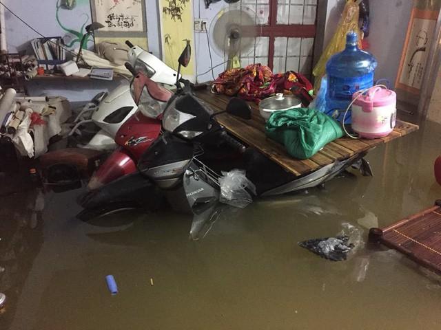 Những hình ảnh hiếm thấy trên đường phố sau trận ngập lụt kinh hoàng tại miền Bắc  - Ảnh 6.