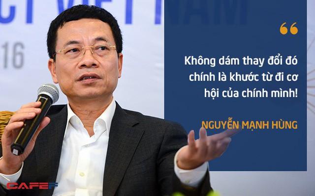 10 phát ngôn truyền cảm hứng của ông Nguyễn Mạnh Hùng dành cho giới trẻ - Ảnh 4.