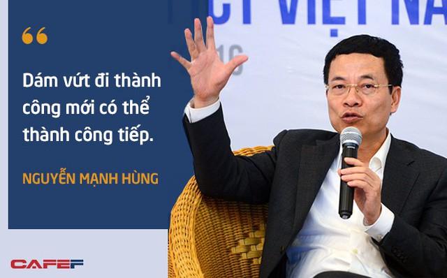10 phát ngôn truyền cảm hứng của ông Nguyễn Mạnh Hùng dành cho giới trẻ - Ảnh 9.