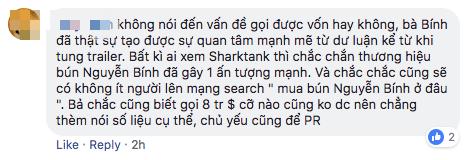 Cộng đồng Startup xôn xao về bà bán bún lên Shark Tank định giá công ty 1.000 tỷ đồng, Shark Vương nói gì? - Ảnh 1.