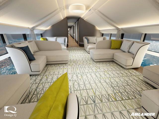 Choáng ngợp có bên trong xe đẳng cấp xa hoa bên trong chiếc máy bay lớn nhất địa cầu - Ảnh 1.