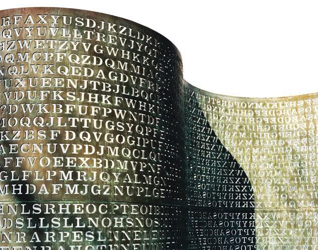 10 mật mã bí ẩn nhất trong lịch sử: Có 1 cái được đặt ngay trước cổng trụ sở CIA để thách thức thiên hạ - Ảnh 1.