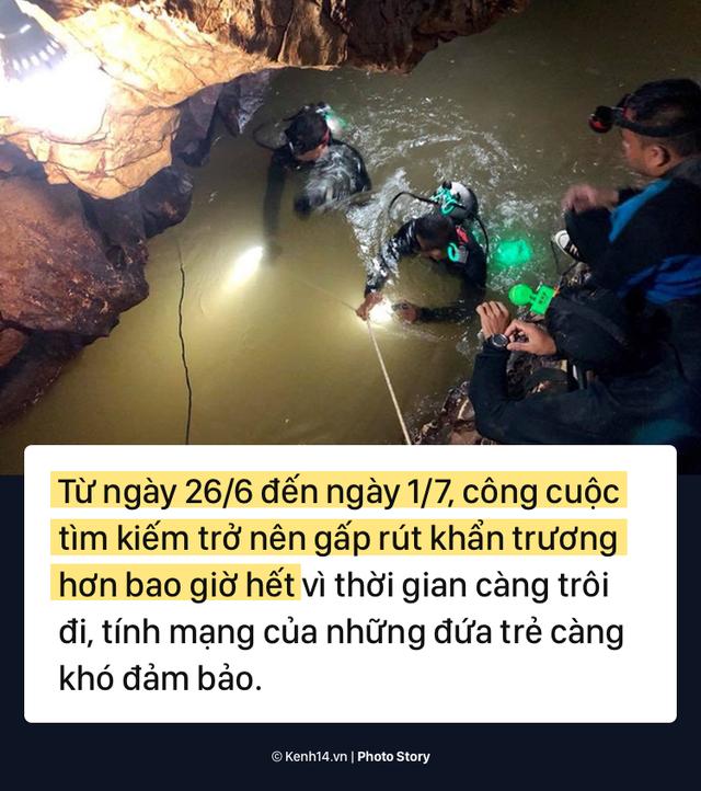 Những khó khăn chồng chất trong suốt nửa tháng giải cứu đội bóng Thái Lan - Ảnh 8.