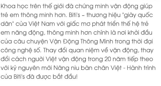 """Kỷ nguyên mới của """"Nâng niu bàn chân Việt"""" - Giấc mơ lớn về một thế hệ trẻ em Việt Nam năng động hơn, thông minh hơn từ Bitis - Ảnh 1."""