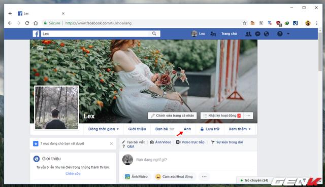 đầu tư giá trị - photo 3 15340546509021610193249 - Những cách giúp xóa nhanh và triệt để tất cả hình ảnh và status đã đăng trên Facebook mà không sợ mất tài khoản