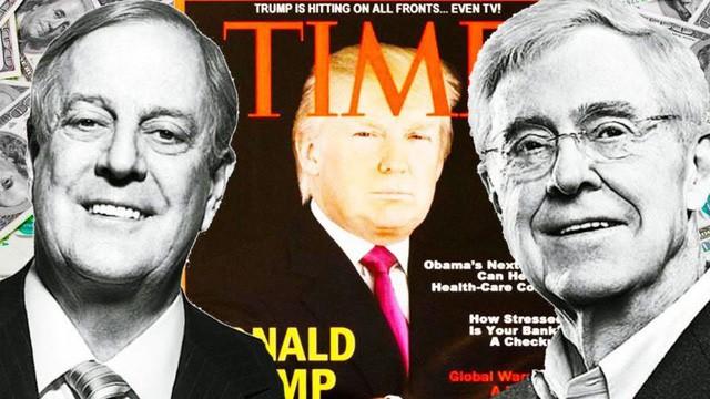 Ông Trump công khai tuyên chiến với gia đình tài phiệt Koch, đảng Cộng hòa thiệt thân trước thời khắc quyết định - Ảnh 1.