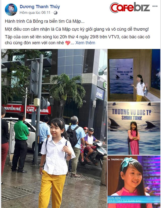Bé Bống bán chè bưởi, 10 tuổi tự sắm iPhone, laptop lên gọi vốn trên Shark Tank Việt Nam - Ảnh 1.