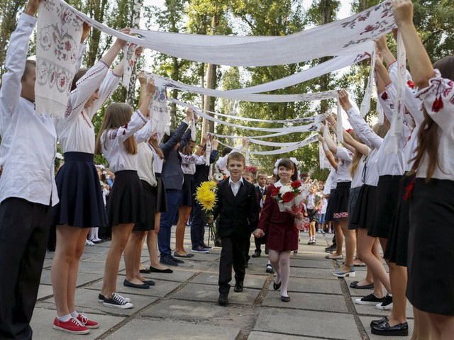 Ngày đầu tiên đi học của trẻ em trên khắp thế giới diễn ra như thế nào? - Ảnh 10.