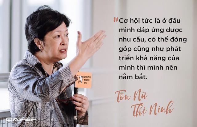 Bà Tôn Nữ Thị Ninh và câu chuyện phá giá lương lúc mới khởi nghiệp - Ảnh 1.