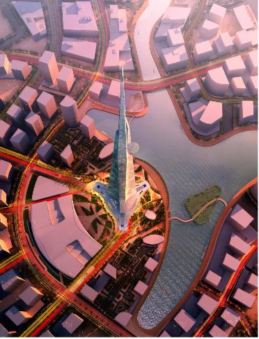 Ả-rập chi hơn tỷ USD xây tòa nhà cao nhất thế giới - Ảnh 2.