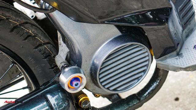 Thợ Việt hồi sinh Honda SH đời đầu 1984 từ đống phế liệu thành hàng hiếm trên phố - Ảnh 19.