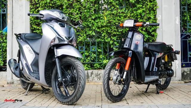 Thợ Việt hồi sinh Honda SH đời đầu 1984 từ đống phế liệu thành hàng hiếm trên phố - Ảnh 4.