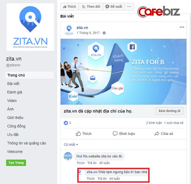 Startup bất động sản triệu USD Zita.vn của Shark Khoa đã chết? - Ảnh 2.
