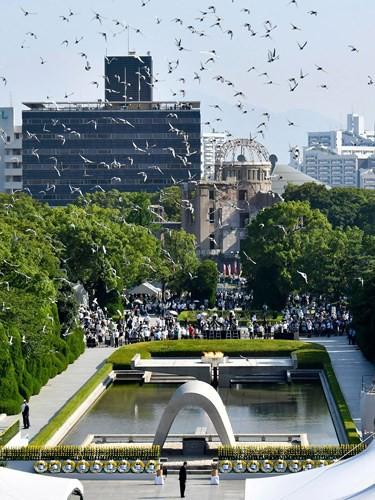 Ảnh: Thành phố Hiroshima - 73 năm sau thảm họa bom nguyên tử - Ảnh 4.