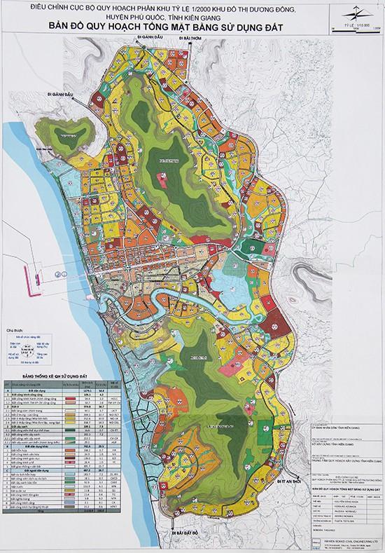 Phú Quốc: Điều chỉnh quy hoạch thị trấn Dương Đông, đất UBND huyện sẽ là cao ốc 29 tầng - Ảnh 1.