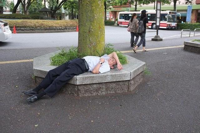 Inemuri: Nghệ thuật ngủ nơi công cộng đã trở thành thương hiệu của người Nhật Bản - Ảnh 4.