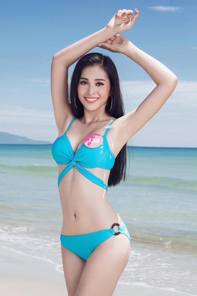 Hành trình nhan sắc của Trần Tiểu Vy toả sáng đến ngôi vị Hoa hậu Việt Nam 2018 - Ảnh 4.