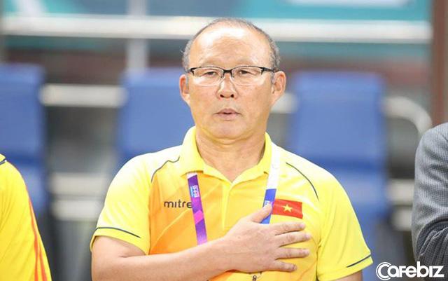Ông Park Hang-seo cấm học trò biện minh cho thất bại, thấy học trò viện lý do, ông dùng tay bịt miệng họ lại - Ảnh 2.
