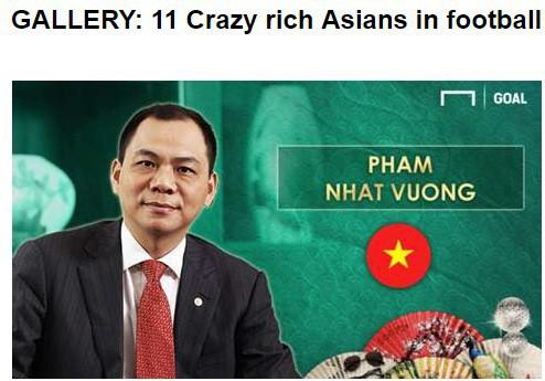 đầu tư giá trị - photo 1 1537870265763522888647 - Tỷ phú Việt Nam lọt top đại gia bóng đá giàu nhất châu Á, sánh ngang ông chủ của Man City