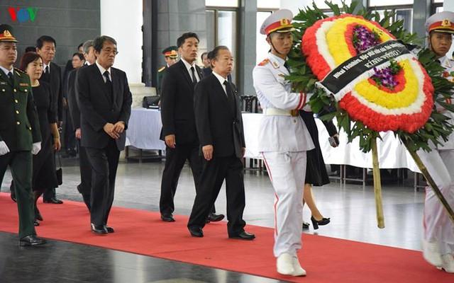 Các đoàn đại biểu quốc tế viếng Chủ tịch nước Trần Đại Quang - Ảnh 11.