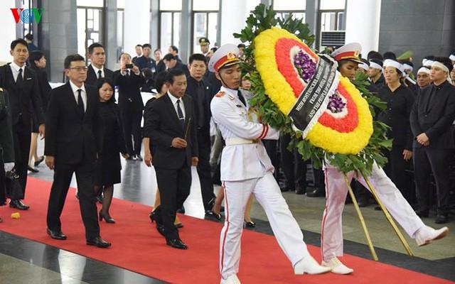 Các đoàn đại biểu quốc tế viếng Chủ tịch nước Trần Đại Quang - Ảnh 19.
