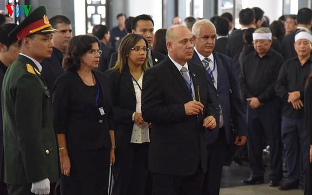 Các đoàn đại biểu quốc tế viếng Chủ tịch nước Trần Đại Quang - Ảnh 6.